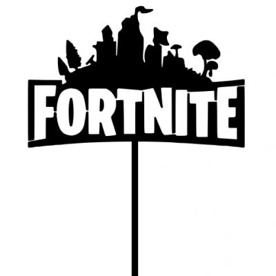 Topo de bolo Fortnite