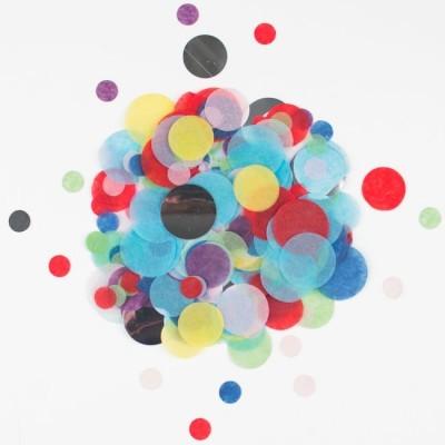 Confettis multicolor
