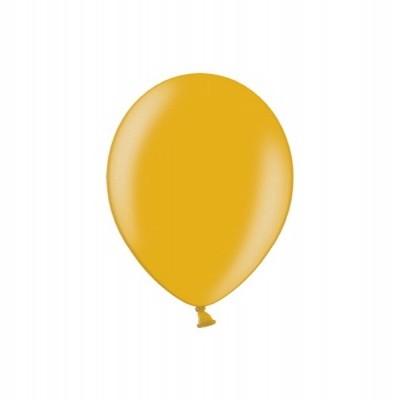 Balão latex 12cm Dourado