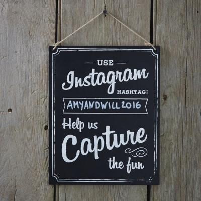 Placa Instagram