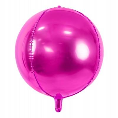 Balão Foil Bola rosa escuro