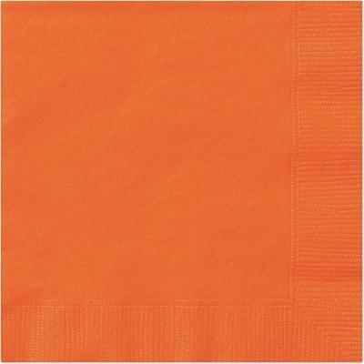 20 Guardanapos laranja