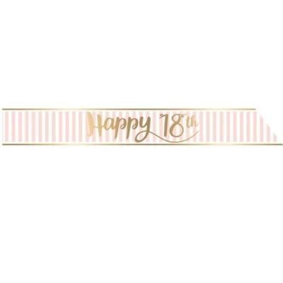 1 Faixa Happy 18th