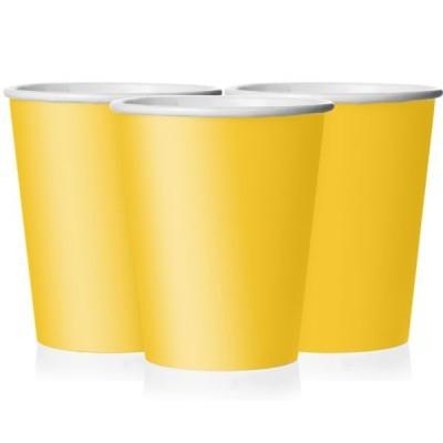 14 Copos amarelos