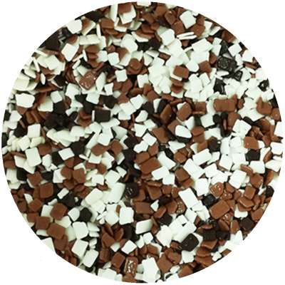 Escama de chocolate sortido 250g