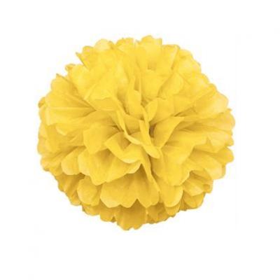 1 x Pompom Amarelo