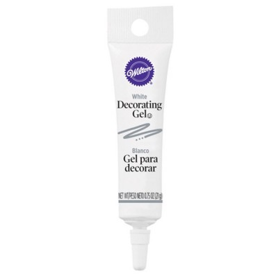 Gel decorativo branco
