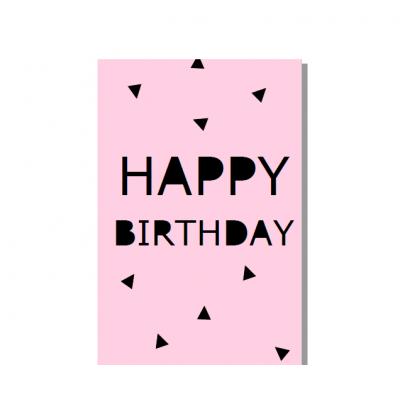 """Postal """"Happy birthday"""" Rosa"""
