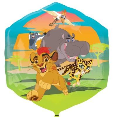 Balão foil guarda do leão