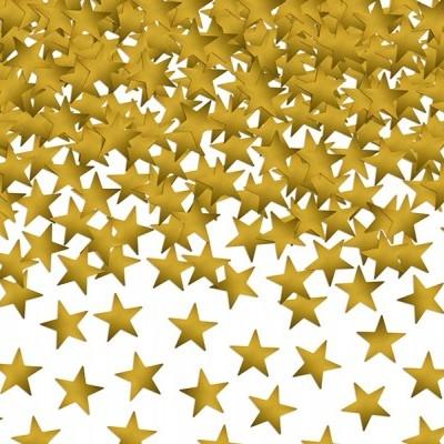 Confetti estrelas ouro