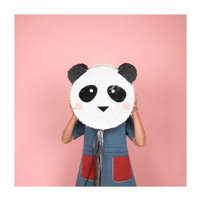 Pinhata artesanal Panda
