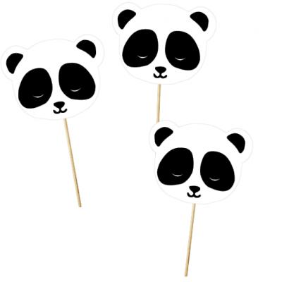 12x Toppers panda