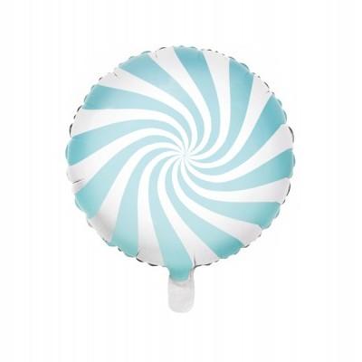 Balão candy azul 45cm