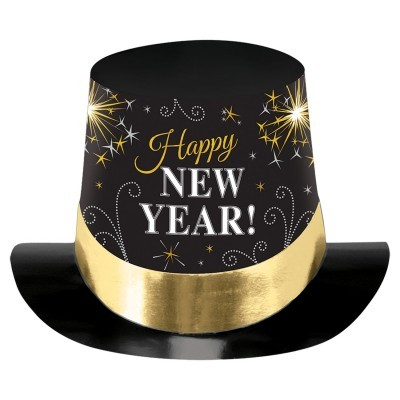 Chapéu happy new year