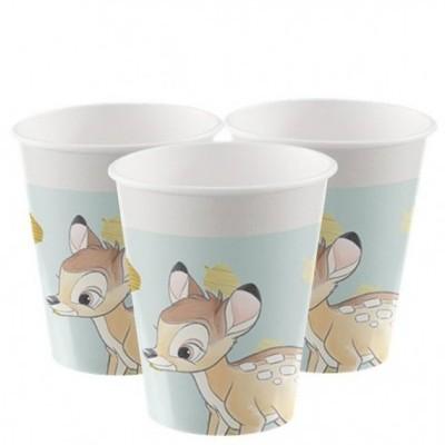 8 Copos Bambi