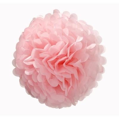 Pompom 40cm rosa bebé