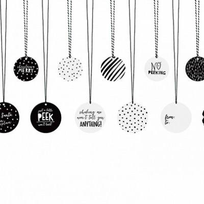 x12 Etiquetas para presentes