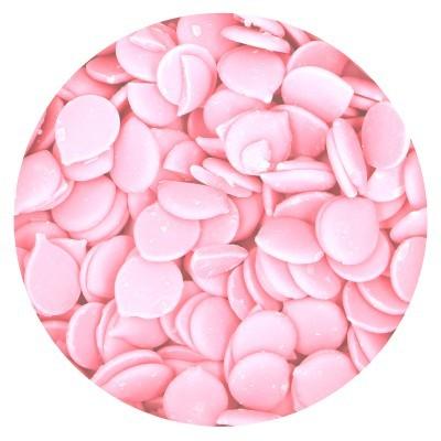 Chocolate fraccionado rosa bebé