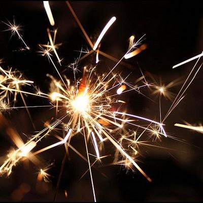 Sparklers 25cm 100 unidades