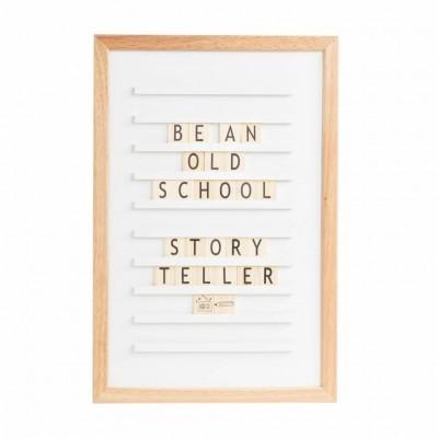 Oldschool Letterboard