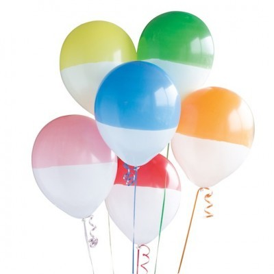 Balões latex two tone