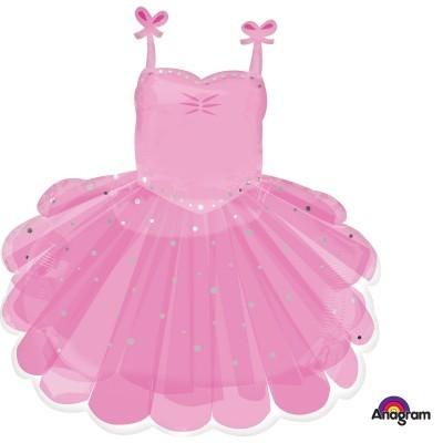 Balão bailarina tutu