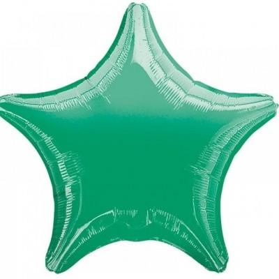 Balão foil estrela verde menta