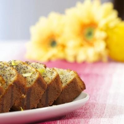 Bolo de Laranja e limão com sementes de papoila 500g