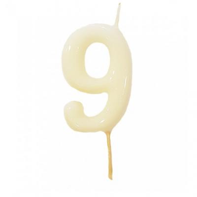 Vela Nº Branca -6cm