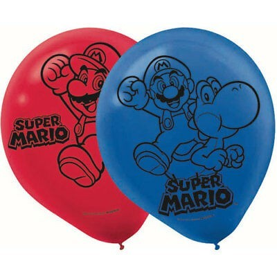 Kit balões Super Mário