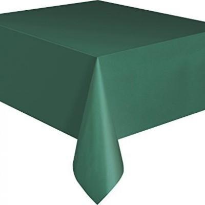 Toalha de mesa verde floresta