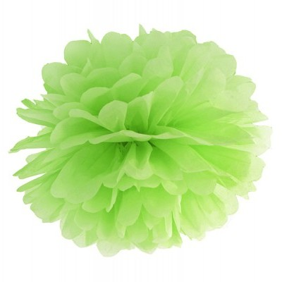 Pompom 40cm Verde lima