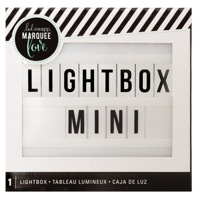 Mini LightBox Branca BY HEIDI SWAPP