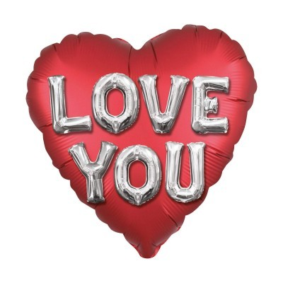 Balão coração jumbo Love You