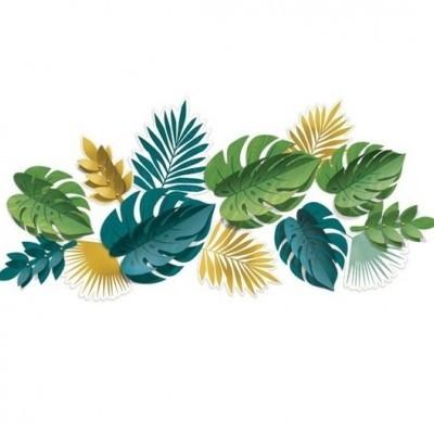 Kit folhas tropicais