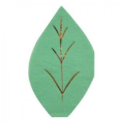 16 Guardanapos folha