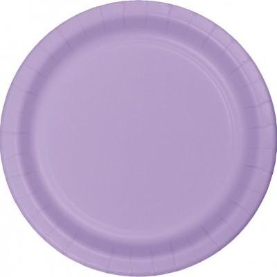 24 pratos lilás