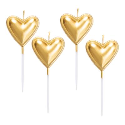 5 Velas Coração