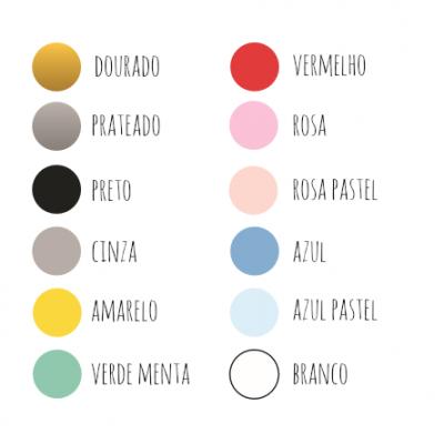 Tabela cores Tosca