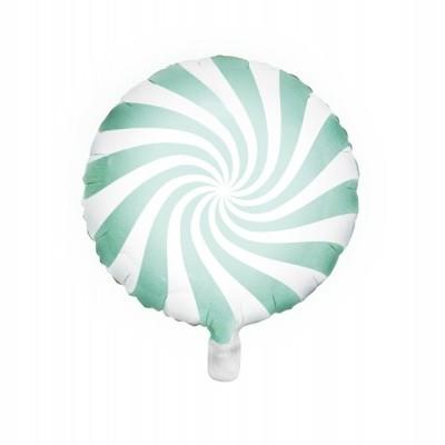 Balão candy menta 45cm