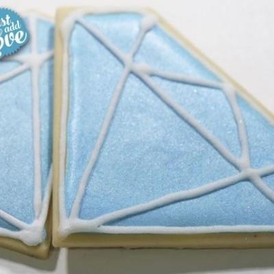 Preparado Glacê azul Pérola