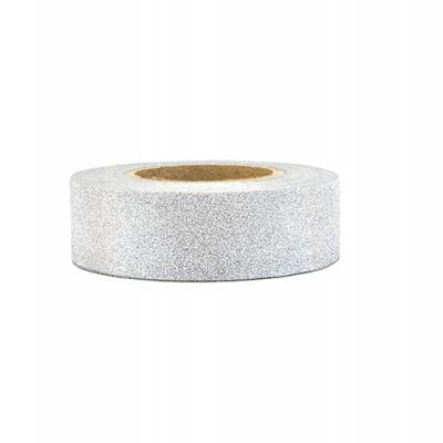 Washi tape prata glitter