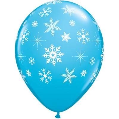 Balão latex floco neve