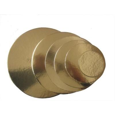 Discos fino Ouro 21cm
