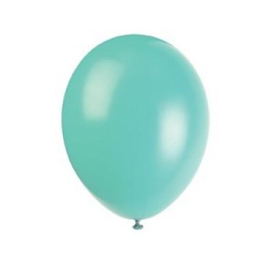 """Balão latex 12"""" verde menta"""