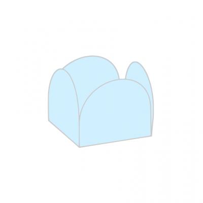 Conj. 24 formas brigadeiro Azul bebé