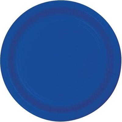 16 Pratos azul cobalto