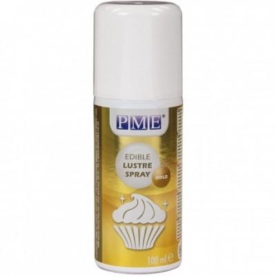 Brilho em spray dourado - 100ml