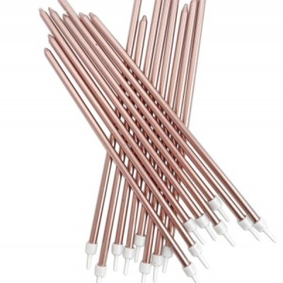 12 Velas Altas Rose gold