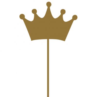 Topo de bolo Coroa